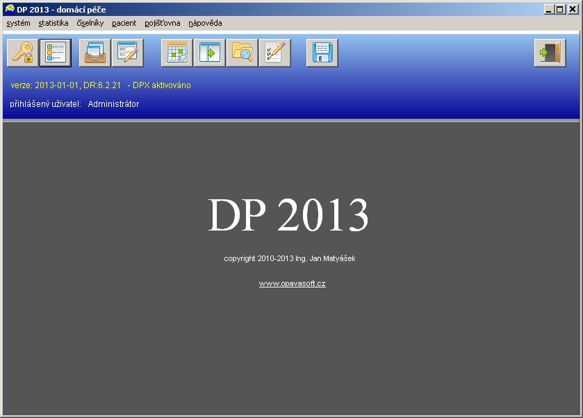 DP2010 úvodní strana
